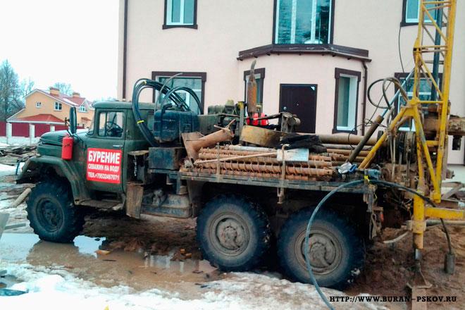 Бурение любых скважин в Пскове