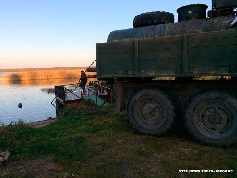 Псковская область бурение на берегу