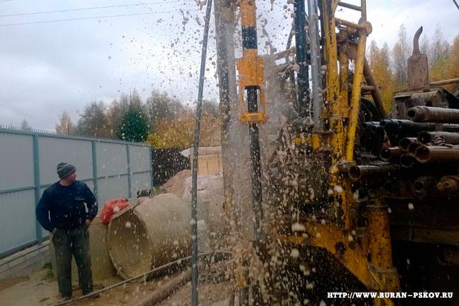 Как пробурить скважину в Псковской области