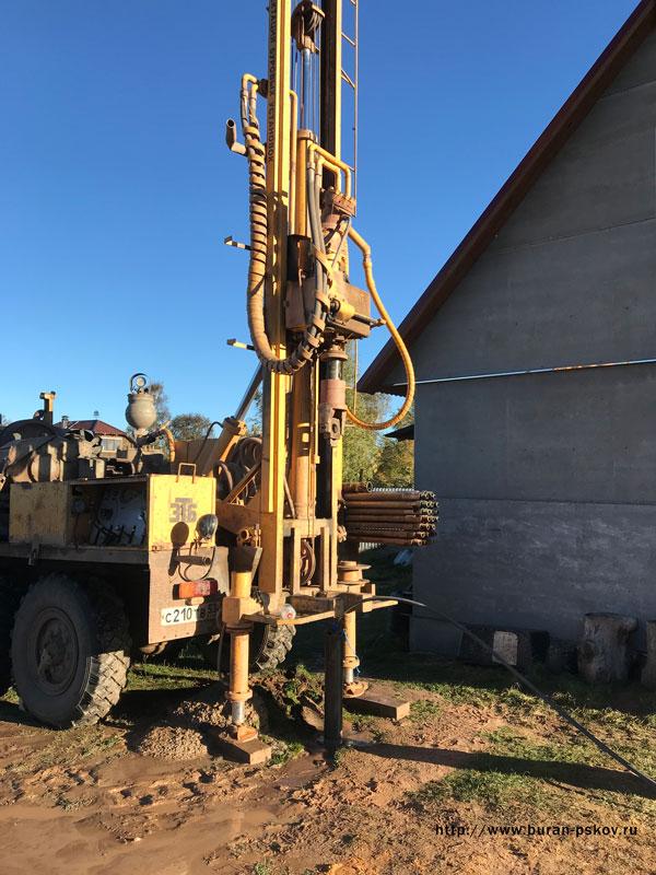 Как пробурить скважину в Мешоколь в Псковской области