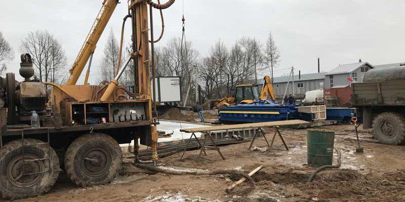 Бурение скважины в Псков
